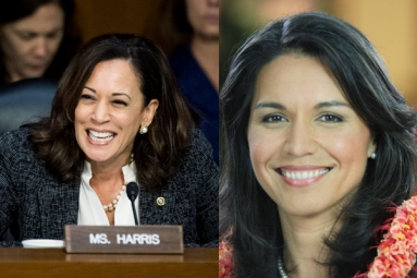 Kamala Harris, Tulsi Gabbard to Begin Campaign in February