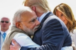 PM Modi welcome US President Trump at Ahmedabad