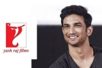 Police Reveal Surprising Details on Sushant Singh Rajput's 3-Year Contract with YRF