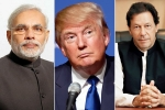 trump, trump calls imran khan, trump asks pm modi imran khan to reduce tensions over kashmir, United states