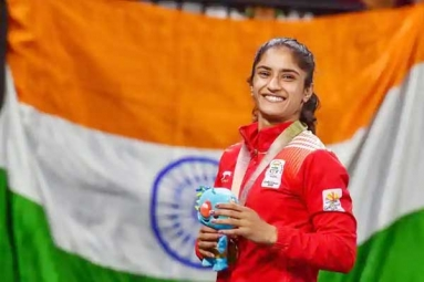 Vinesh Phogat First Indian Nominated for Laurels World Sports Award