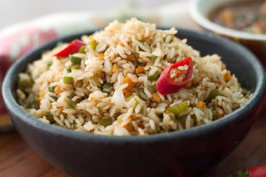 Yummy Vegetable Fried Rice Recipe